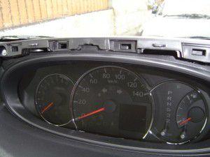 ムーブ カスタム MOVE CUSTOM GPSアンテナ設置・取付