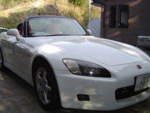 ホンダ S2000にパイオニアオンダッシュカーナビ[楽ナビ]の取付