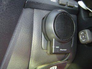 トヨタ セルシオ(UCF30系)純正マルチに地デジチューナーとサイバーナビの追加5