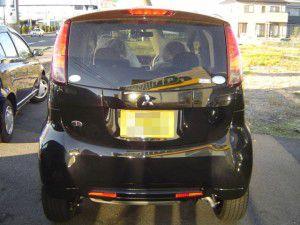 三菱 アイ [i]にパイオニア 楽ナビ AVIC-HRZ09 の取付 完了