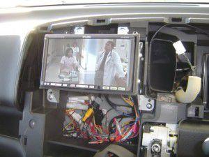 日産セレナに三菱カーナビNR-HZ750CD-DTVの設置 14