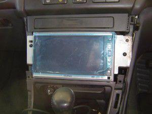 ホンダ セイバーにGathersカーナビ[VXH-071MCV]の設置  5