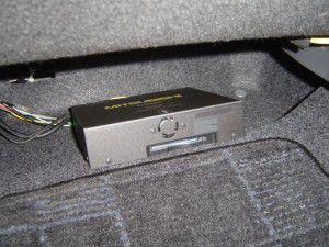 トヨタ ヴィッツ 20年式 三菱NR-HZ750CD-DTV  カーナビの取付 5