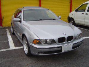 BMW525i(E39) パナソニックのオンダッシュカーナビDV-155FDの取付 1