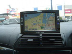 BMW525i(E39) パナソニックのオンダッシュカーナビDV-155FDの取付 4