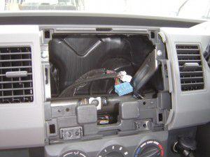 ワゴンRのオーディオ分解