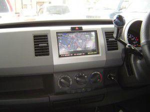三菱電機製カーナビNR-HZ750CD-DTVをワゴンRに設置