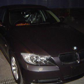BMW 3シリーズ E90 ソニー製HDDカーナビ NV-XYZ777の取付