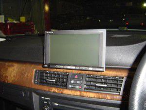 BMW_E90楽ナビオンダッシュモニター