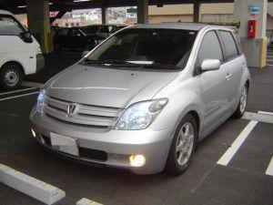 トヨタ イスト HID換装