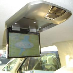 日産 エルグランドにアルパイン フリップダウンモニターTMX-R1050の取付・設置