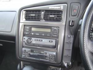 日産ステージアにクラリオンスムーナビNX308とETC・iPodケーブルの設置・取付2