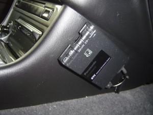 日産ステージアにクラリオンスムーナビNX308とETC・iPodケーブルの設置・取付8