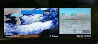 地デジとi-DRIVEの2画面表示