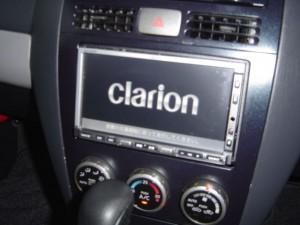 ウイングロードにクラリオン製カーナビMAX-760HDを設置完了
