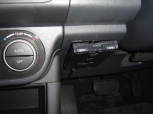 スイフトにETC車載器の設置