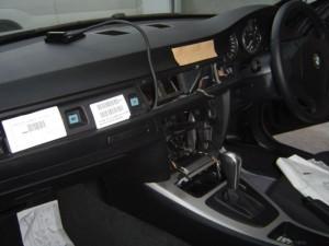 BMW E90 コンソール分解