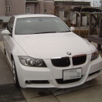 BMW E90にETC車載器の設置