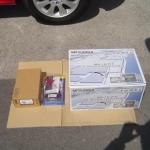 NR-HZ750CD-DTV2とメルセデスベンツ用 CANバスアダプターとAVインストールキット