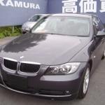BMW E90に楽ナビとワンセグチューナーの設置
