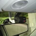 エスクードにドライブカメラDRY-R3を設置