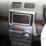 ムーブコンテにカーナビ クラリオン MAX570の設置