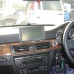 BMWのE90に楽ナビAVIC-HRV011の設置完了