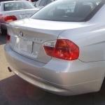 BMW E90のリアビュー