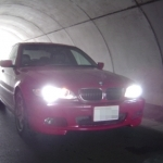 E46 HID換装 トンネル内1
