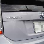 トヨタ 新型プリウスにパナソニック製バックカメラの取付