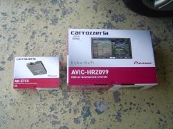 パイオニア AVIC-HRZ099とND-ETC5