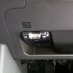 CUBEにETC車載器の取付