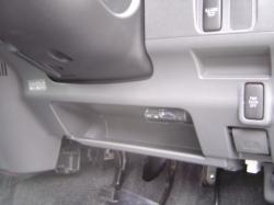 タントにパナソニック製ETC車載器の設置