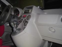 FIAT PANDAにETC車載器の設置が完了