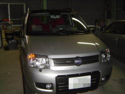 FIAT PANDAにETC車載器の設置