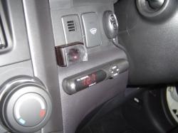 CR-V リモコン受光部は運転席左側に設置