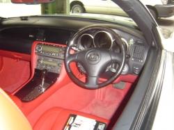 LEXUS SC430の運転席