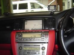 レクサス SC430にドライブレコーダーとGPSレーダー探知機の設置