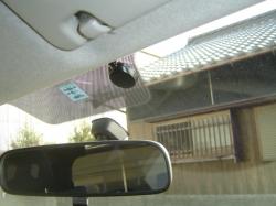 トヨタ シエンタにETC車載器のアンテナ設置