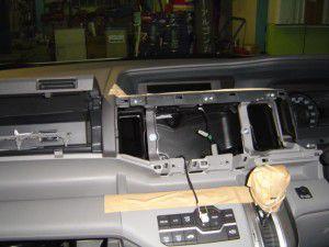 オーディオパネル分解 新型ステップワゴン