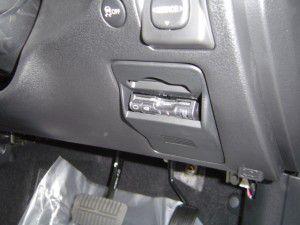 ETC車載器の取付け フォレスター