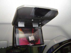 ホンダ 新型ステップワゴンにフリップダウンモニターの取付