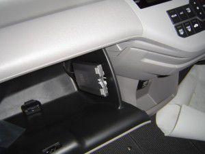 新型ステップワゴンにETC車載器の取付