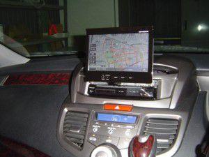 ホンダ オデッセイにサイバーナビ AVIC-VH9900の取付完了