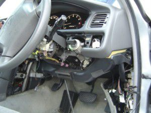 トヨタ クレスタ 運転席周り 分解