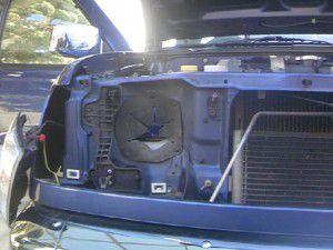 ダットサン トラック ヘッドライト分解