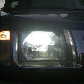 日産 ダットサン トラック ヘッドライト HIDシステム換装後