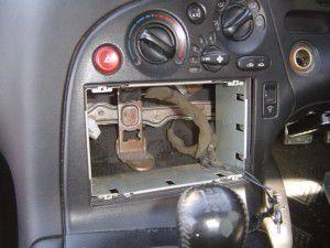 RX7 FD3Sのオーディオ脱着