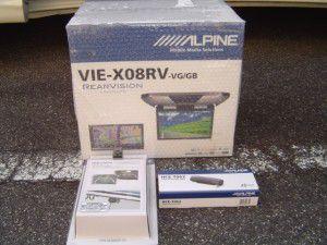 アルパイン ALPINE VIE-X08RV-GB HCE-C107D HCE-T062