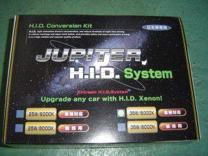 JUPITER HID 35W H4 Hi/Lo 6000K